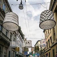 Il FuoriSalone 2010 nelle vie di centrali Milano.<br /> Via Montenapoleone