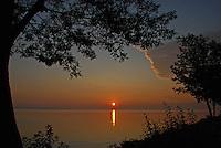 Sunrise at Lakeside, OH 2009