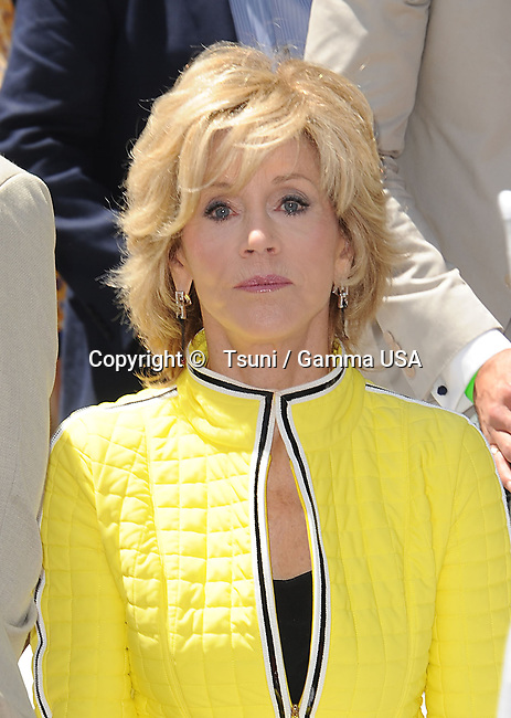 Jane Fonda<br /> Jennifer Lopez Honored with a Star on the Hollywood Walk Of Fame in Los Angeles.