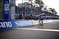 Sanne Cant (BEL/Enertherm-BKCP) wins another World Cup<br /> <br /> UCI Cyclocross World Cup Heusden-Zolder 2015