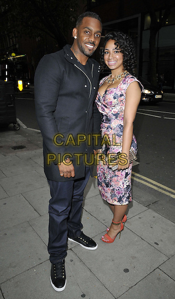 LONDON, ENGLAND - AUGUST 27: Richard Blackwood &amp; guest attend the &quot;The Guvnors&quot; VIP film screening, Odeon Covent Garden cinema, Shaftesbury Avenue, on Wednesday August 27, 2014 in London, England, UK. <br /> CAP/CAN<br /> &copy;Can Nguyen/Capital Pictures