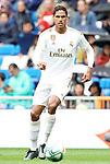 Real Madrid's Raphael Varane during La Liga match. September 14,2019. (ALTERPHOTOS/Acero)