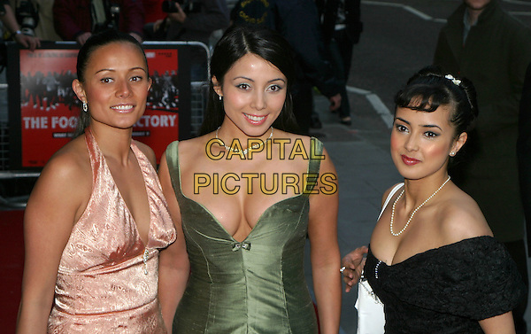 RACHEL GRANT.The Football Factory - UK Charity Film Premiere, Odeon, West End, London, WC2.May 10th, 2004.half length, half-length, cleavage, plunging neckline.www.capitalpictures.com.sales@capitalpictures.com.© Capital Pictures..