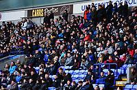 Bolton Wanderers fans look on<br /> <br /> Photographer Richard Martin-Roberts/CameraSport<br /> <br /> The EFL Sky Bet Championship - Bolton Wanderers v Preston North End - Saturday 9th February 2019 - University of Bolton Stadium - Bolton<br /> <br /> World Copyright © 2019 CameraSport. All rights reserved. 43 Linden Ave. Countesthorpe. Leicester. England. LE8 5PG - Tel: +44 (0) 116 277 4147 - admin@camerasport.com - www.camerasport.com