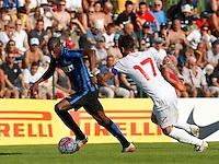 Geoffrey Kondogbia<br /> italian Prseason soccer match between FC inter e Carpi , at Stadium of Rischione di Brunico Italy July 15, 2015