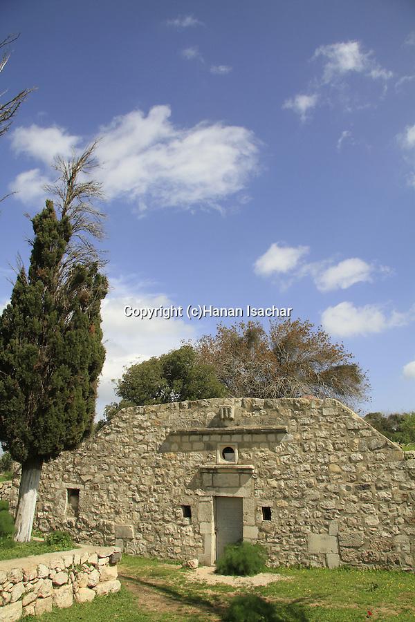 "Israel, ""Cave of Melchizedek"" chapel on Mount Tabor"