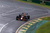 24th March 2018, Melbourne Grand Prix Circuit, Melbourne, Australia; Melbourne Formula One Grand Prix, qualifying; The number 3 Aston Martin Red Bull driven by Daniel Ricciardo