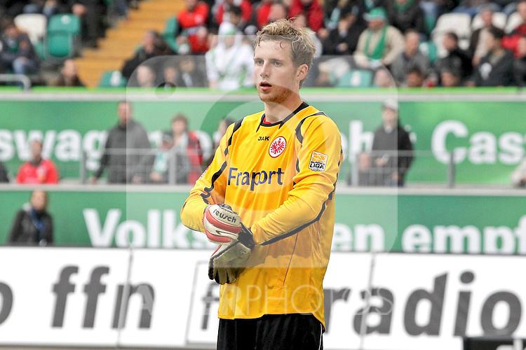 06.03.2010, Arena Wolfsburg, Wolfsburg, GER, 1.FBL, VFL Wolfsburg vs Eintracht Frankfurt Bild Ralf Faehrmann #22 TW   Foto © nph / Rust