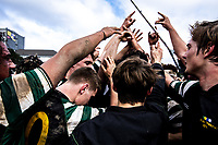 Action from the 2019 Wellington colts John E Kelly Memorial Cup rugby final between Hutt Old Boys Marist and Old Boys University Green at Petone Rec in Wellington, New Zealand on Saturday, 27 July 2019. Photo: Dave Lintott / lintottphoto.co.nz