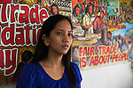 May One Posa Dominado, volontaria di PFTC Filippine ed avvocatessa che si batte per far luce sulla sequela di enforced disappearances (sparizioni forzate) e omicidi che nelle Filippine<br /> colpiscono sindacalisti, attivisti dei diritti umani, ambientalisti, contadini e insegnanti impegnati nella rivendicazione di una riforma agraria e nella difesa dei diritti dei lavoratori. La madre di May One, Luisa Posa Dominado &egrave; dal 2007 vittima di sparizione forzata, si teme che sia stata assassinata a causa del suo impegno per la difesa dei diritti dei produttori di zucchero di PFTC.