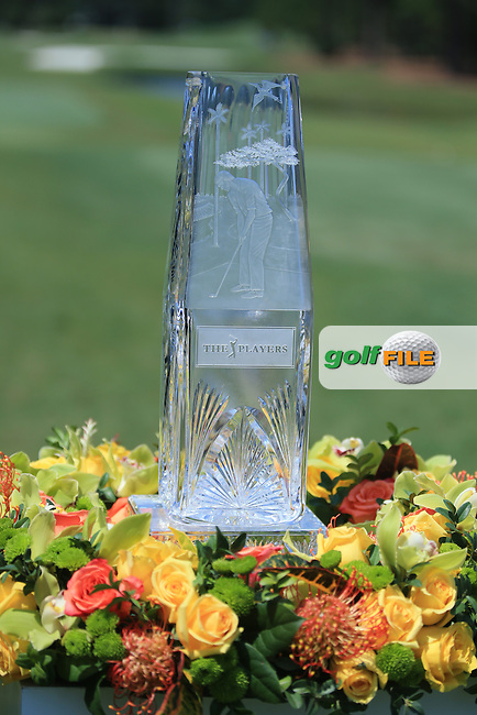 The Players 2016 trophy during the First Round of The Players, TPC Sawgrass,   Florida, USA. 12/05/2016.<br /> Picture: Golffile | Mark Davison<br /> <br /> <br /> All photo usage must carry mandatory copyright credit (&copy; Golffile | Mark Davison)