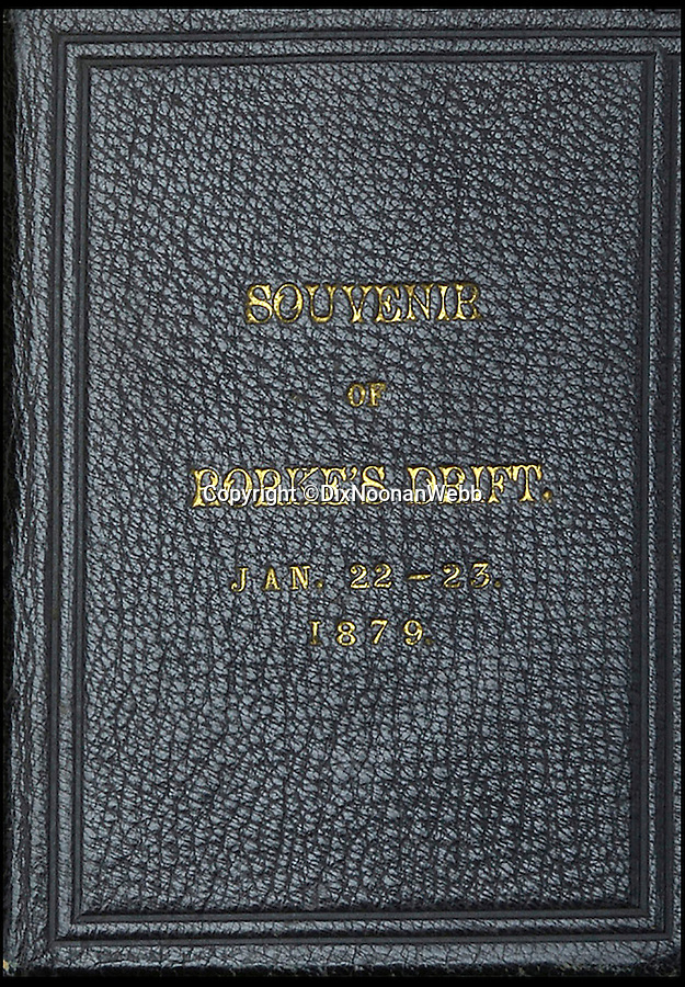 BNPS.co.uk (01202 558833)<br /> Pic: DixNoonanWebb/BNPS<br /> <br /> Holy Bible from The Ladies' Rorke's Drift Testimonial Fund, 1879.<br /> <br /> A medal awarded to one of the defenders of Rorke's Drift, which was immortalised in the film Zulu, has sold for £132,000 138 years on.<br /> <br /> Driver Charles Robson was the batman, or personal servant, to Victoria Cross hero Lieutenant John Chard, who was played by Stanley Baker in the classic 1964 movie.<br /> <br /> The duo formed part of the 140-strong British garrison which defied all odds to successfully defend the Rorke's Drift mission station from 4,000 marauding Zulu warriors in 1879.<br /> <br /> Robson never left the side of Lt Chard, who was the commanding officer and who organised the epic defences which included piling up mealie bags to form a makeshift wall.<br /> <br /> The medal went under the hammer with London auctioneers Dix Noonan Webb today and went for a record £132,000.