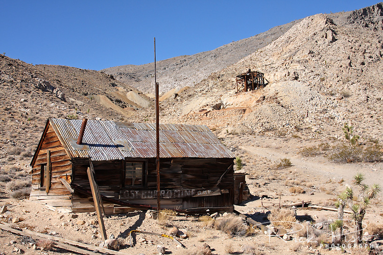 The Lost Burro Gold Mine was given its name in 1907 when Bert Shively's burro decided he'd had it and went to get himself lost. Bert caught up with him in a remote canyon and picked up a rock to get his attention. He never threw the rock at the animal as it was laced with gold. The mine was worked off and on through the decades according to the price of gold up into the 1970's. No one seems to know what happened to the burro.