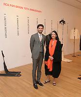 Lorenzo MGlavici and Judith Mottram