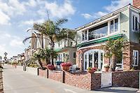 Little Balboa Island Homes of Newport Beach California