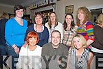 NEW BAR: Enjoying the opening of the new bar The Square Tralee on Friday night, Front l-r: Geraldine Flynn, Mick Harkin and Marion O'Mahony. Back l-r: Sarah O'Donnell, Pamela Teahan, Angela O'Sullivan,Joanne Allman and Mairead Brosnan(Tralee)...