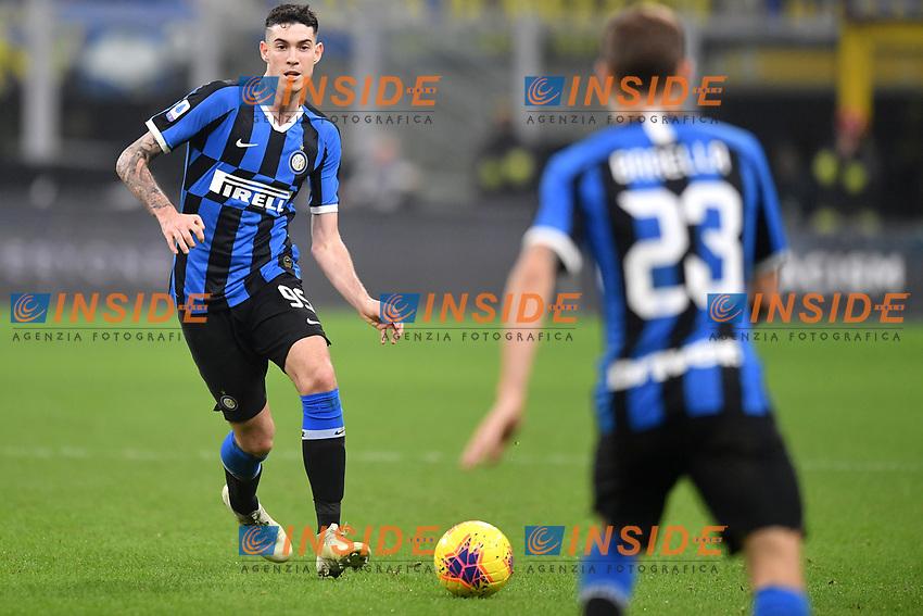 Alessandro Bastoni of FC Internazionale <br /> Milano 9-11-2019 Stadio San Siro <br /> Football Serie A 2019/2020 <br /> FC Internazionale - Hellas Verona <br /> Photo Andrea Staccioli / Insidefoto