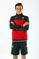 Pictured: Nikolas Ioan Legakis. Friday 02 June 2017<br /> Re: Swansea City FC clothes photo-shoot at the Liberty Stadium, Swansea, Wales, UK