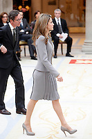 Princess Letizia of Spain attend the National Awards of Culture 2011 and 2012 at Palacio de El Pardo. February 19, 2013. (ALTERPHOTOS/Caro Marin) /NortePhoto