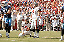 MATT BRYANT, of the Tampa Bay Buccaneers , in action during the Buccaneers games against the Tennessee Titans, in Tampa Bay, FL on October 14, 2007.  ..The Buccaneers won the game 13-10...COPYRIGHT / SPORTPICS..........