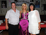 Danielle Moore from Clonalvy celebrating her 21st birthday in the Star and Crescent with parents Charlie and Brenda. Photo: www.colinbellphotos.com