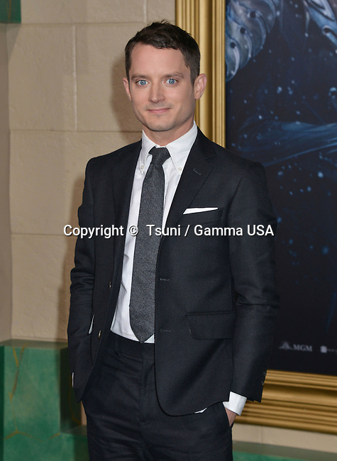 Elijah Wood 022 at the Hobbit Battle of the Five Armies Premiere at the Dolby Theatre in Los Angeles.