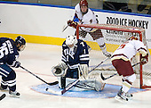 Mark Arcobello (Yale - 26), Ryan Rondeau (Yale - 1), Pat Mullane (BC - 11), Joe Whitney (BC - 15) - The Boston College Eagles defeated the Yale University Bulldogs 9-7 in the Northeast Regional final on Sunday, March 28, 2010, at the DCU Center in Worcester, Massachusetts.