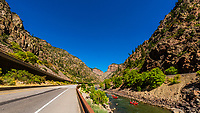 USA-Colorado-Glenwood Canyon
