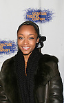 "YaYa Dacosta - Top Model and AMC ""Cassandra Foster"" at the opening night of the play HOME for Signature Theatre Company on December 7, 2008 and the after party at 44 1/2, New York, New York. (Photo by Sue Coflin/Max Photo)"