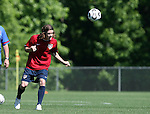 12 May 2006: John O'Brien heads the ball. The United States' Men's National Team trained at SAS Soccer Park in Cary, NC, in preparation for the 2006 FIFA World Cup tournament to be played in Germany from June 9 through July 9, 2006.
