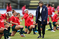 Milena Bartolini coach of Italy during the warm up<br /> Castel di Sangro 12-11-2019 Stadio Teofolo Patini <br /> Football UEFA Women's EURO 2021 <br /> Qualifying round - Group B <br /> Italy - Malta<br /> Photo Cesare Purini / Insidefoto