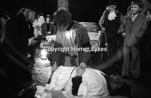 Blewbury Mummers Play. Blewbury Oxfordshire. England 1974