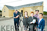 Rolling Back The Years in Clounmacon is a film by Leo Finucane Films which is a film about a class of twelve who attended Clounmacon NS in 1962. The film will be launched on 29th of July at Clounmacon Community Centre. The cast l-r  Katie Keane, JJ Sullivan, Cathal Dunne and Aaron Duffy playing 6th class students in 1962
