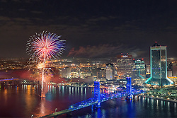Fireworks on New Year's Eve, 2012<br />