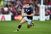 Matt Scott of Scotland in possession. Rugby World Cup Pool B match between Scotland and Japan on September 23, 2015 at Kingsholm Stadium in Gloucester, England. Photo by: Patrick Khachfe / Onside Images