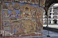 BG41172.JPG BULGARIA, RILA MONASTERY, CHURCH OF NATIVITY, frescoes