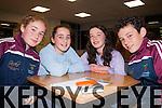 Listen Up<br /> -----------<br /> Cromane GAA u17 team,L-R Cora Joy,Sadhbh shaughnessy,HannaKate Duffy&amp;Darragh McKeefry