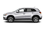 Car Driver side profile view of a 2016 Mitsubishi Outlander-Sport 2.4-ES-AWC-CVT 5 Door SUV Side View