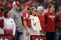 NWA Democrat-Gazette/ANDY SHUPE<br /> Arkansas LSU Friday, May 10, 2019, during the inning at Baum-Walker Stadium in Fayetteville. Visit nwadg.com/photos to see more photographs from the game.