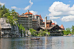The Mohonk Mountain House and Lake Mohonk, New York