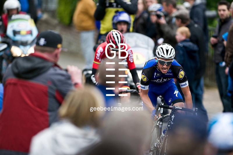 2016 Flanders Classics<br /> UCI Pro Continental Cycling<br /> De Brabantse Pijle<br /> 13 April 2016<br /> Julian Alaphillipe, Etixx-Quick Step