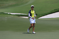Minjee Lee (AUS) in action on the 18th during Round 3 of the HSBC Womens Champions 2018 at Sentosa Golf Club on the Saturday 3rd March 2018.<br /> Picture:  Thos Caffrey / www.golffile.ie<br /> <br /> All photo usage must carry mandatory copyright credit (&copy; Golffile   Thos Caffrey)