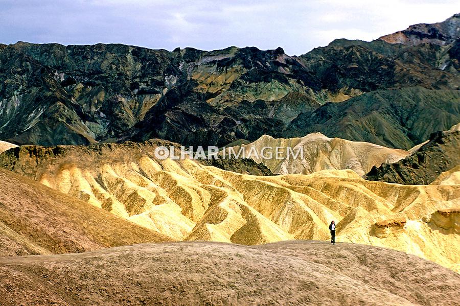 Paisagem do Death Valley, California. EUA. 1997. Foto de Stefan Kolumban.