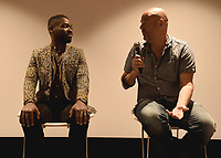 """LOS ANGELES, CA - AUGUST 16:   David Oyelowo and Jacob Estes at the Ava Duvernay Hosted Special Screening of the Blumhouse film """"Don't Let Go"""" at the Amanda Theater at Array Creative Campus on August 16, 2019 in Los Angeles, California. (Photo by Scott Kirkland/Blumhouse/PictureGroup)"""