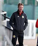 02.09.2019 Scotland u-21 training, Oriam, Edinburgh.<br /> Head coach Scot Gemmill during training ahead of the upcoming UEFA European Under-21 Championship Qualifier against San Marino this Thursday evening in Paisley.