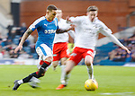 James Tavernier is a blur in the box