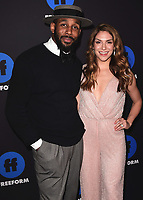 "HOLLYWOOD, CA - JANUARY 18:  Stephen ""Twitch"" Boss and Allison Holker at the Freeform Summit at NeueHouse on January 18, 2018 in Hollywood, California. (Photo by Scott Kirkland/PictureGroup)"