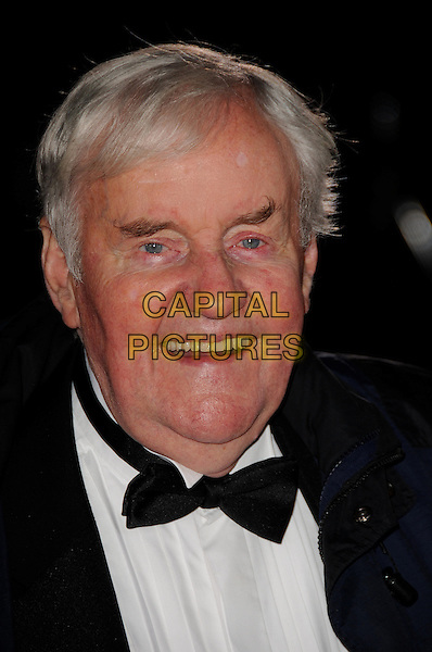 RICHARD BRIERS .The Variety club showbiz awards, Grosvenor House Hotel, London, England..November 16th, 2008.headshot portrait black bow tie.CAP/CAS.©Bob Cass/Capital Pictures.