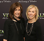 Bette Gwathmey and Alice Shure attends the Off-Broadway Opening Night arrivals for 'Vitaly: An Evening of Wonders' at the Westside Theatre on June 20, 2018 in New York City.