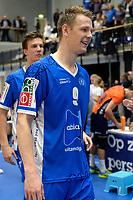 GRONINGEN - Volleybal, Abiant Lycurgus - Orion, Martiniplaza, Supercup , seizoen 2017-2018, 01-10-2017,  Lycurgus speler Stijn van Schie